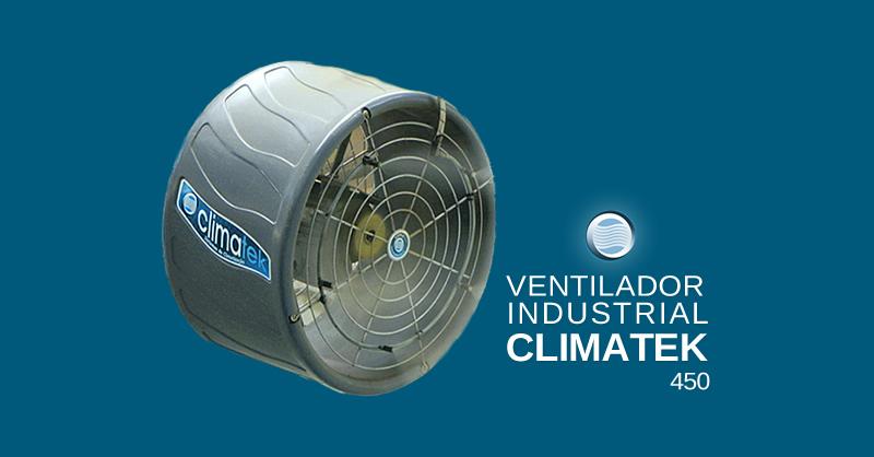 Ventilador Industrial Climatek 450