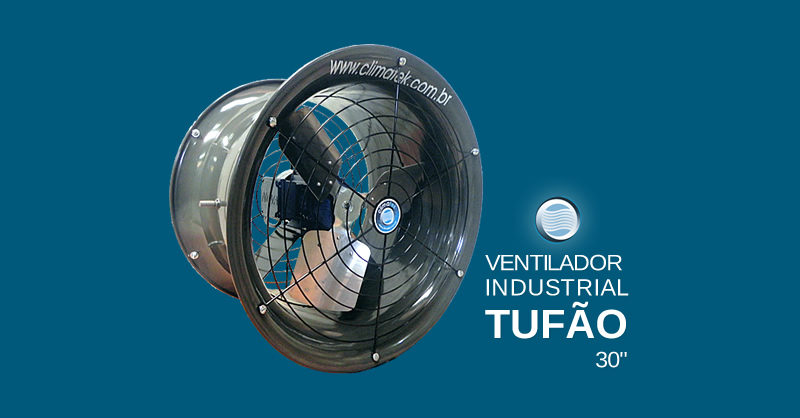 Ventilador Industrial Tufão 30