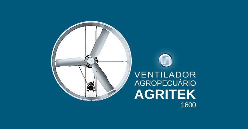 Ventilador Agropecuário Agritek 1600