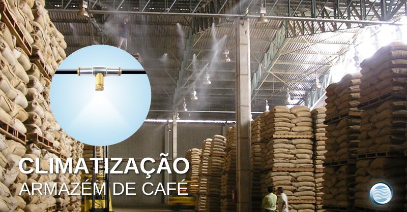 Climatização Armazém de Café
