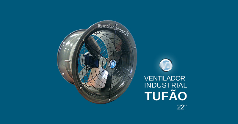 Ventilador Industrial Tufão 22