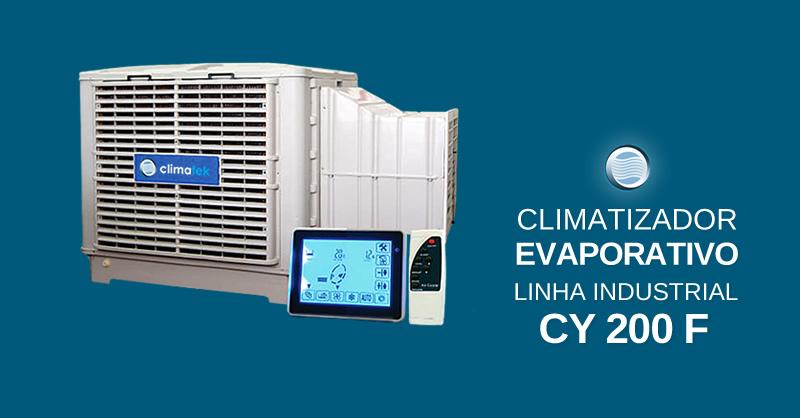 Climatizador Evaporativo Linha Industrial CY 200 F