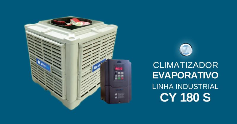 Climatizador Evaporativo Linha Industrial CY 180 S