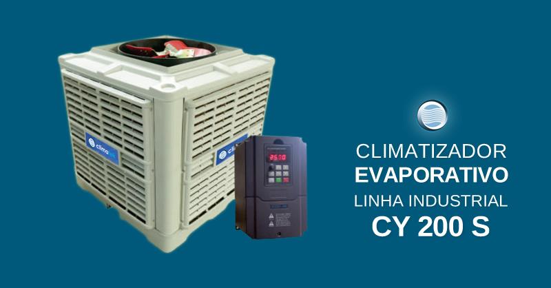 Climatizador Evaporativo Linha Industrial CY 200 S