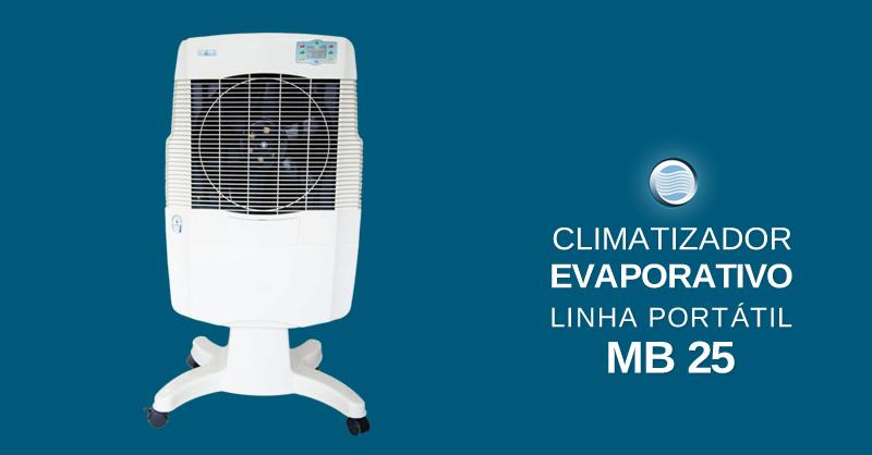 Climatizador Evaporativo Linha Portátil MB 25