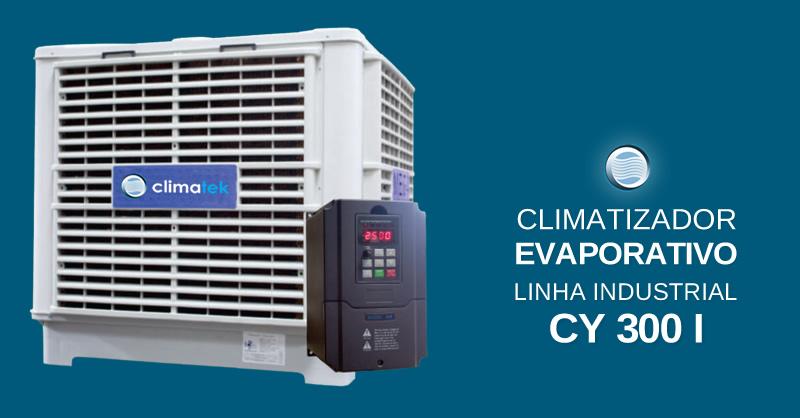 Climatizador Evaporativo Linha Industrial CY 300 I
