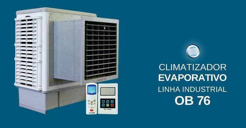 Climatizador Evaporativo Linha Industrial OB 76