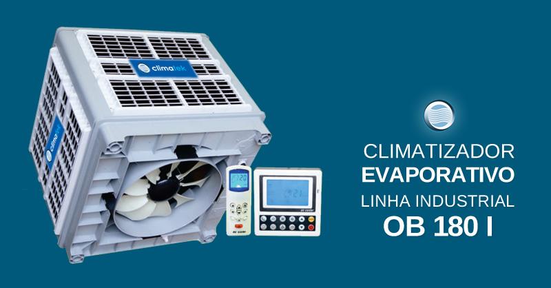 Climatizador Evaporativo Linha Industrial OB 180 I