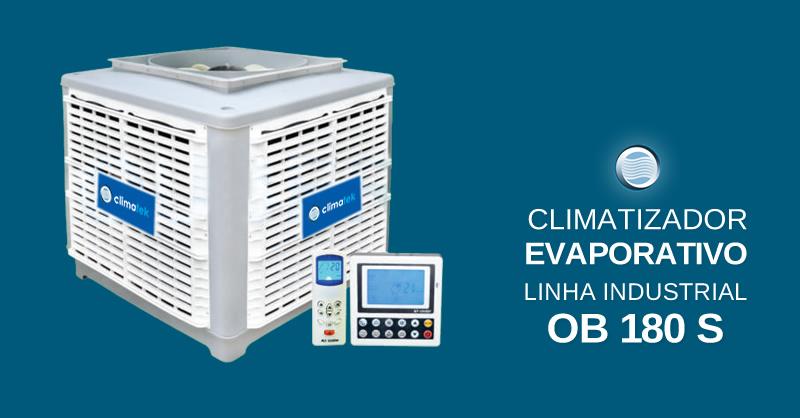 Climatizador Evaporativo Linha Industrial OB 180 S