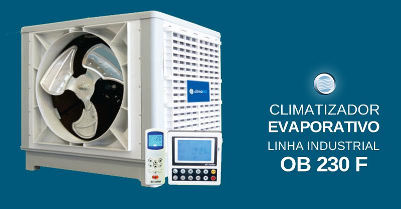 Climatizador Evaporativo Linha Industrial OB 230 F