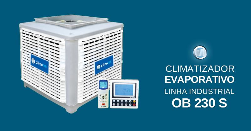 Climatizador Evaporativo Linha Industrial OB 230 S