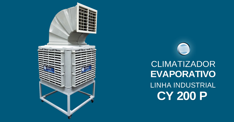 Climatizador Evaporativo Linha Industrial CY 200 P